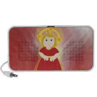 Divine Child Dazzling Love Red Angel's Wings Mp3 Speaker