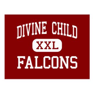 Divine Child - Falcons - High - Dearborn Michigan Postcard