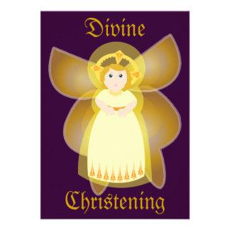 Divine Christening Invitation-Customize
