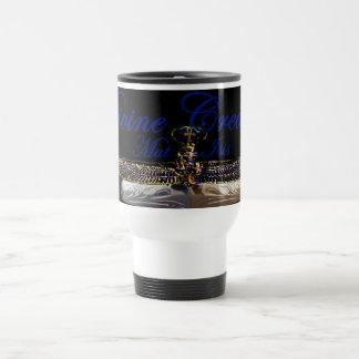 Divine Creation- Egyptian goddess- Mut/ Isis 15 Oz Stainless Steel Travel Mug