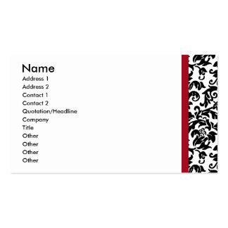 Divine Damask Business Card
