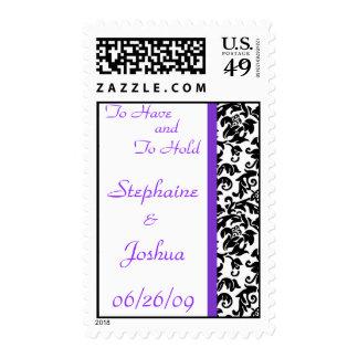 Divine Damask Medium Postage Stamps