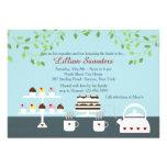 Divine Desserts Spring-Theme Invitation