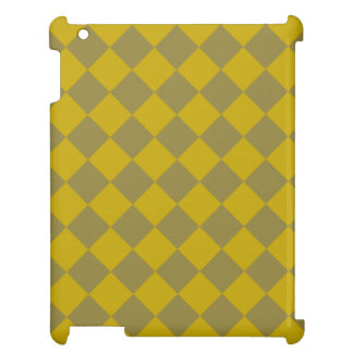 Divine Diamond Patterns_Gold Green Cover For The iPad