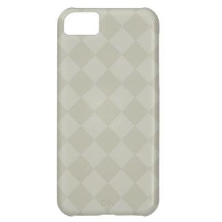 Divine Diamond Patterns_Grey iPhone 5C Cover