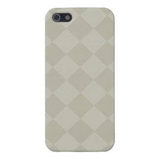 Divine Diamond Patterns_Grey iPhone 5 Case