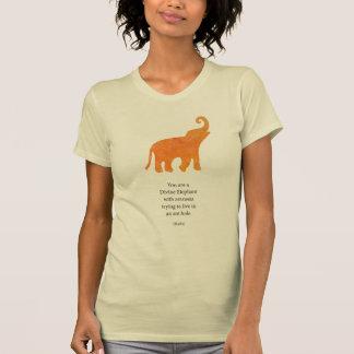 Divine Elephant Tee Shirt