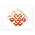 Divine & Eternal Postcard