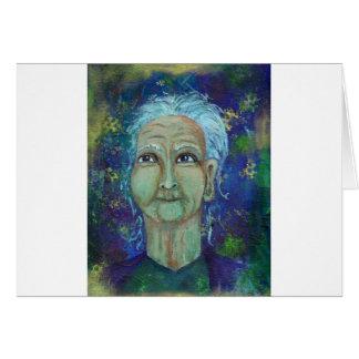 Divine Feminine Auntie Ebb Card