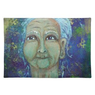 Divine Feminine Auntie Ebb Placemat