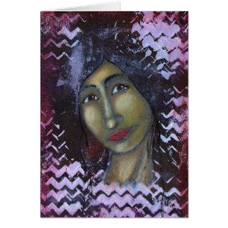 Divine Feminine Ayesha Card
