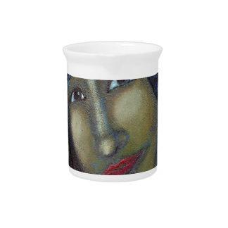 Divine Feminine Ayesha Beverage Pitcher