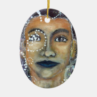 Divine Feminine Eleonora Christmas Ornament