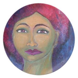 Divine Feminine Lola Party Plate