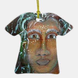 Divine Feminine Ragnhailt Christmas Ornament