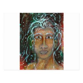 Divine Feminine Ragnhailt Postcard