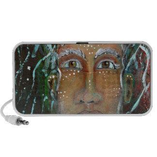 Divine Feminine Ragnhailt Notebook Speakers