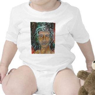 Divine Feminine Ragnhailt Baby Bodysuit