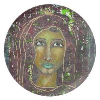 Divine Feminine Sarah Dinner Plate