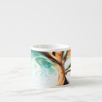Divine Flavor Pastel Abstract Espresso Cup