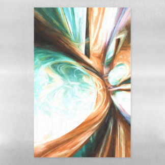 Divine Flavor Pastel Abstract Magnetic Dry Erase Sheet