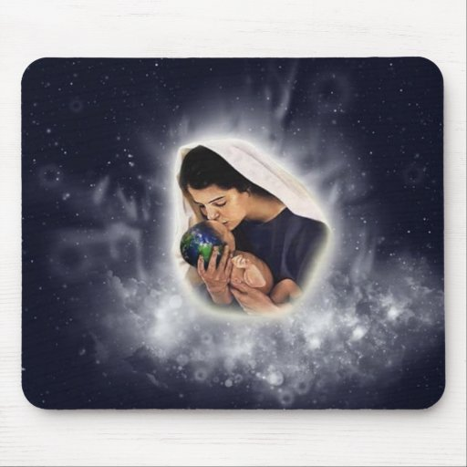 Divine gift mouse pad