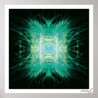 Divine Glow Poster