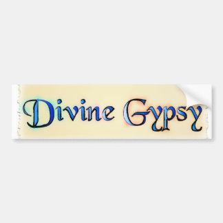 Divine Gypsy Bumper Sticker