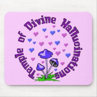 Divine Hallucination Temple Mouse Pad