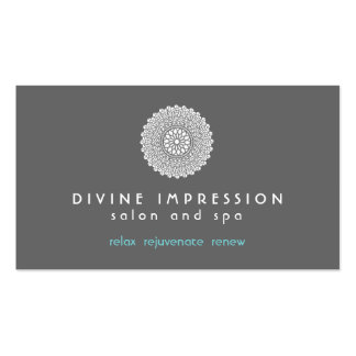Divine Impression Blue 2 Double-Sided Standard Business Cards (Pack Of 100)