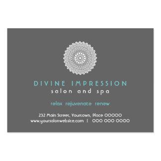 Divine Impression Blue Gift Certificate Business Card