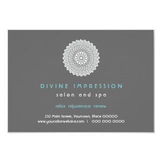 Divine Impression Blue Gift Certificate Card