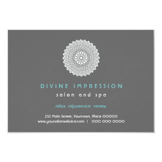 Divine Impression Blue Gift Certificate Personalized Announcement
