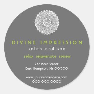 Divine Impression Green Promotional Sticker