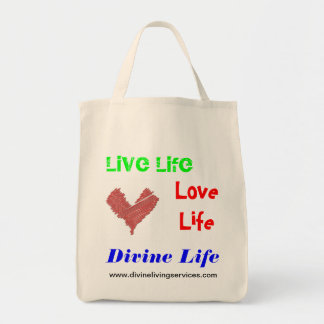 Divine Living Services Organic Tote