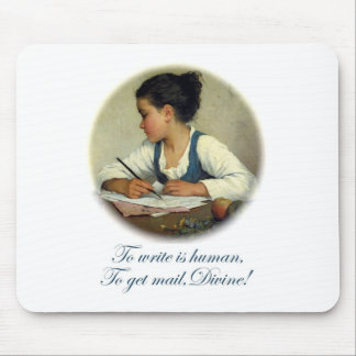 Divine Mail Mouse Pad