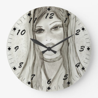 Divine Mary Large Clock