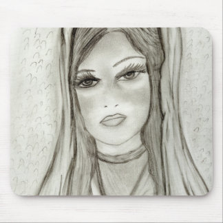 Divine Mary Mouse Pad