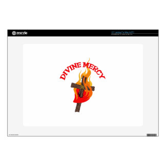 "DIVINE MERCY 15"" LAPTOP DECALS"