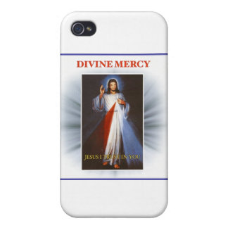 Divine Mercy Cases For iPhone 4