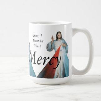Divine Mercy Classic White Coffee Mug