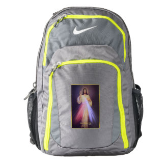 Divine Mercy Gold Nike Backpack