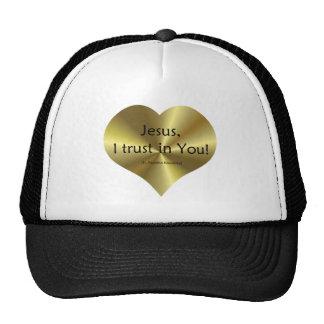 Divine Mercy: Jesus I trust in You Trucker Hat