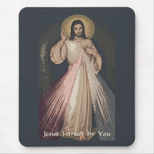Divine Mercy Mouse Pads
