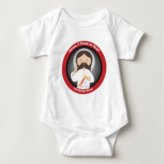 Divine Mercy of Jesus Baby Bodysuit