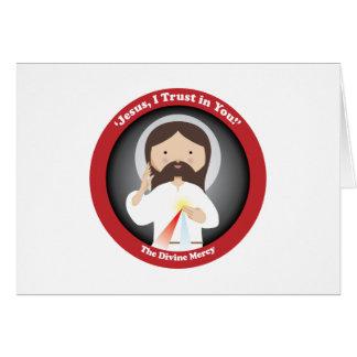 Divine Mercy of Jesus Greeting Card