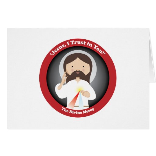 Divine Mercy of Jesus Greeting Cards