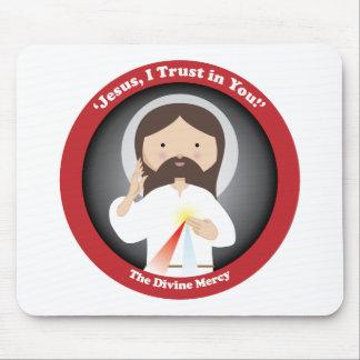 Divine Mercy of Jesus Mouse Pad