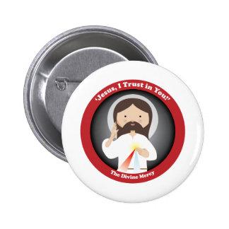 Divine Mercy of Jesus Pinback Button