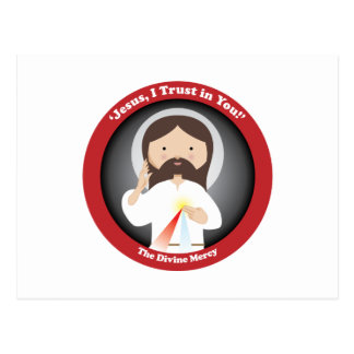 Divine Mercy of Jesus Postcard